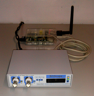 Shared access network connected USB mixed signal oscilloscope.