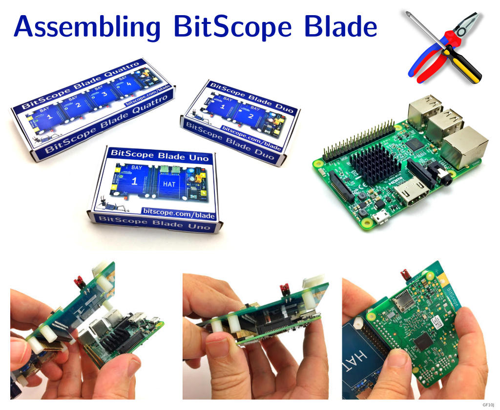 BitScope Blade Assembly Guide.