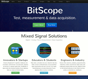 New BitScope Website.